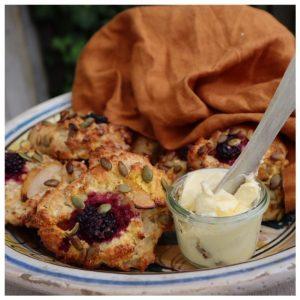 Recept på scones